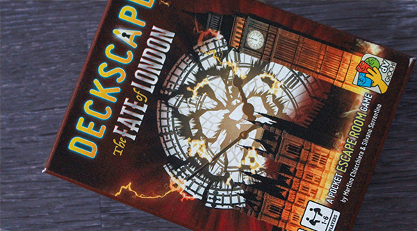 Deckscape - The Fate of London -arvostelu