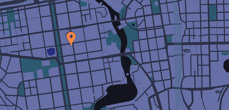 Pakohuone Tampere kartta